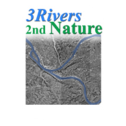 3 Rivers 2nd Nature logo, art ecology and community in Allegheny County